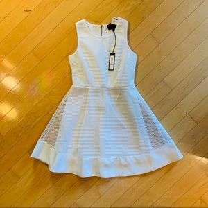 Romeo+Juliet White Couture Dress